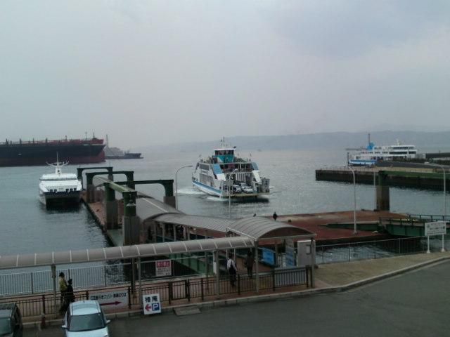 呉港の交通船舶